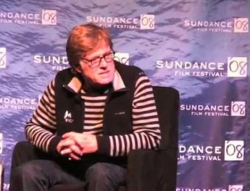 Robert Redford Opening Day Sundance