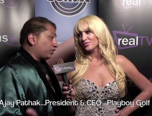 Ajay Pathak, Playboy Golf President & CEO, Playboy Party, Playboy Mansion