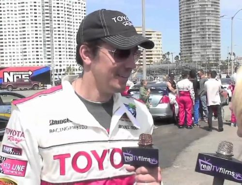 Michael Trucco, Long Beach Toyota Grand Prix Celebrity Race, Jennifer Lexon