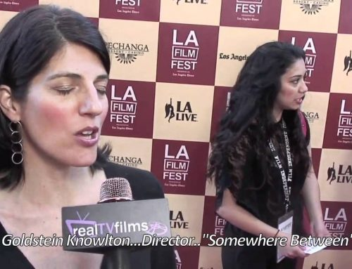 "Linda Goldstein Knowlton, Director ""Somewhere Between"", Bernie Movie Premiere, Opening Night LA Film Festival 2011"