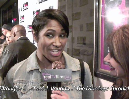 Terri J. Vaughn,Lynn Maggio,The Marriage Chronicles Premiere , REDBOX