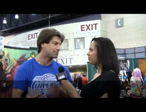 The Gorgeous Geeks Interview Charlie O'Connell, ( HUFF Movie ) , Comic Con Philly