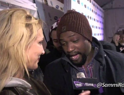 Susie Oliver, Sammi Rotibi, HBO Party, Sundance 2012