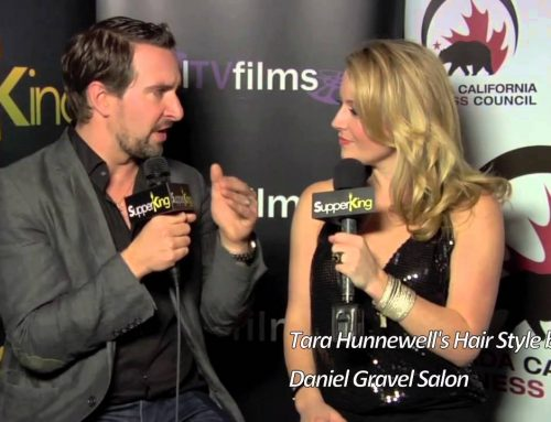 Jon Vlassopulos CEO of TrailerPop, Tara Hunnewell Hair Style by DG Salon, Daniel Gravel salon