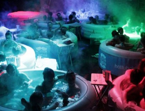 Best Movie Cinemas in the World, Hot Tub Cinema