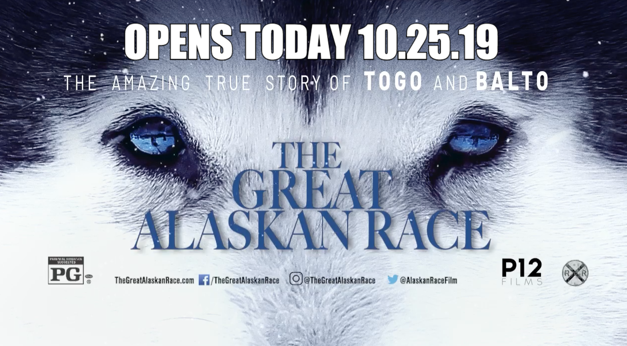 The Great Alaskan Race, In Theaters TODAY 10.25.19