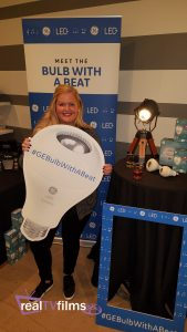 GE Lighting's LED+ Speaker Bulb